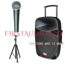Murah Speaker Portable Meeting Wireless MAX 12 MHWR ( 12 INCH )