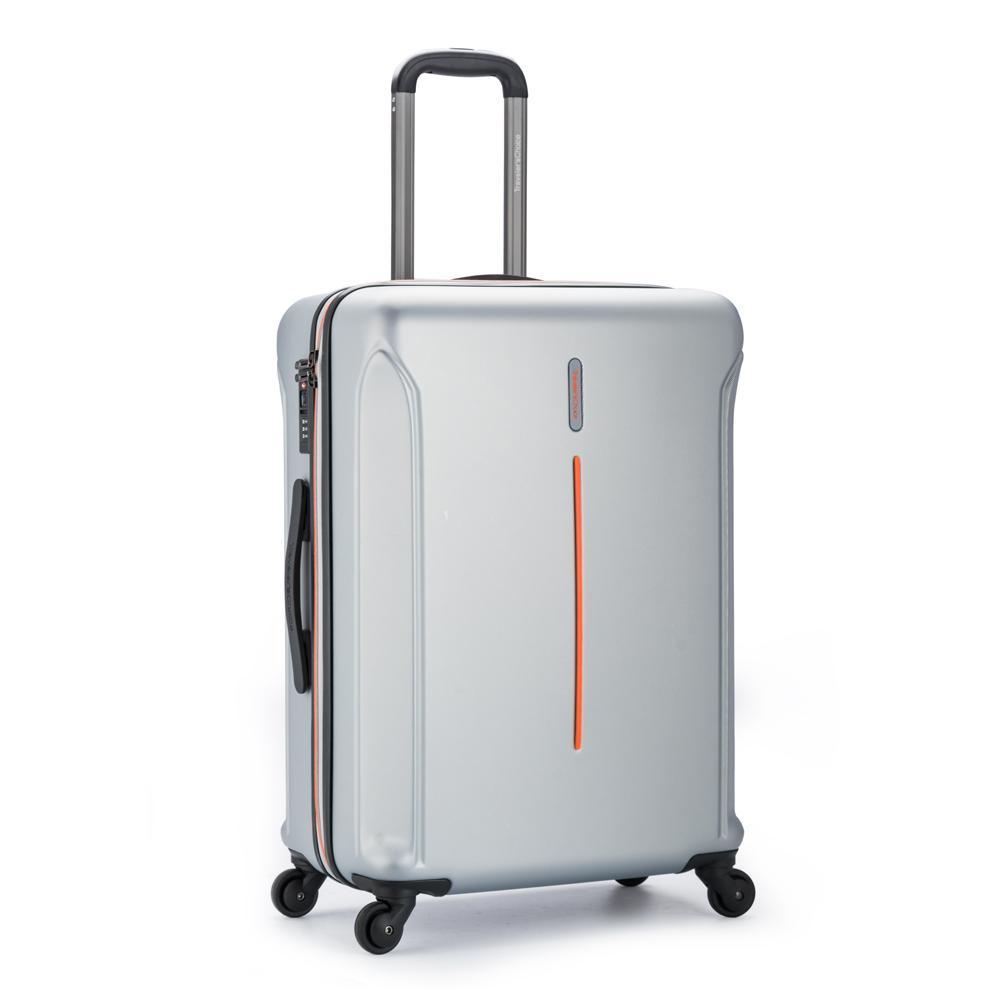 Traveler's Choice Hypernova Koper Hardcase Medium/26 Inch – Silver