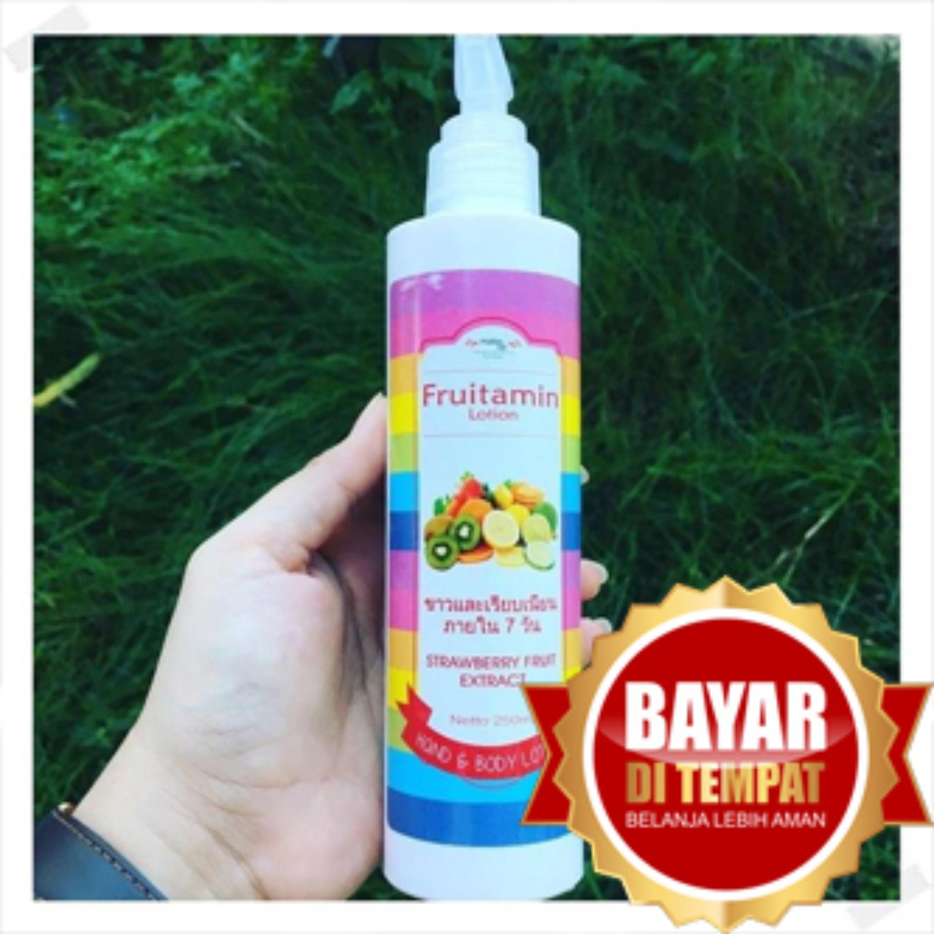 Gluta Fruitamin Soap 10 in 1 - Sabun Pemutih Wajah & Kulit by Pretty White Original BPOM - FREE Masker Wajah NaturgoIDR25000. Rp 25.000