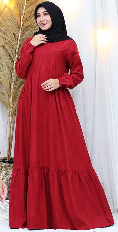 Bayar Ditempat Cod Gamis Muslim Cantik Ans Gamis Lengan Panjang Terbaru Gamis Bahan Katun Kodoray Gamis All Size Lazada Indonesia