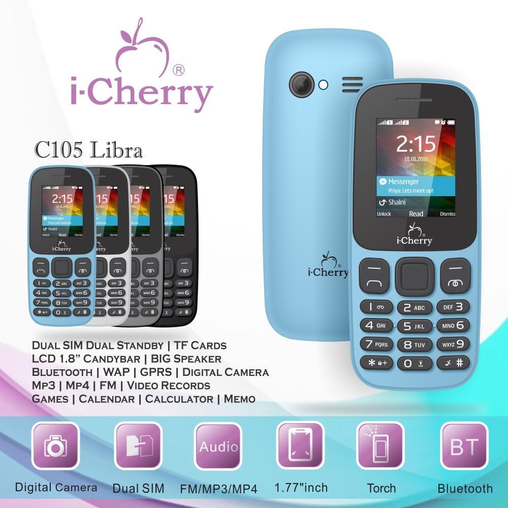 """iCherry C105 Libra 1.8"""" Candybar"""