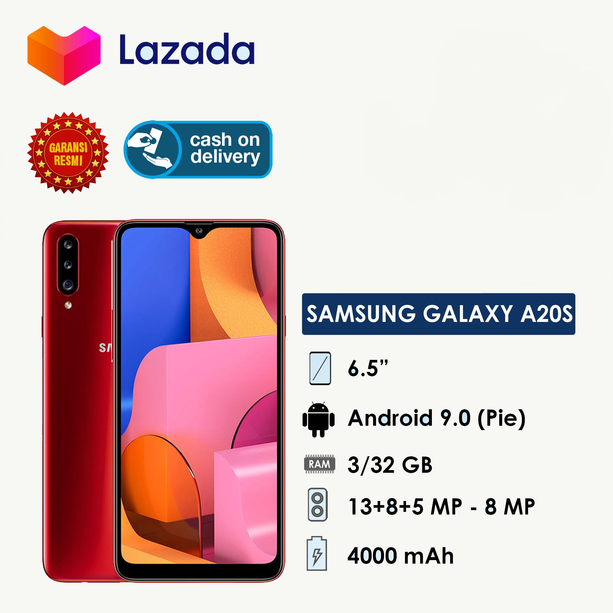 [Nantikan Diskon Terbesar di 12.12] Samsung Galaxy A20S - Garansi Resmi SEIN