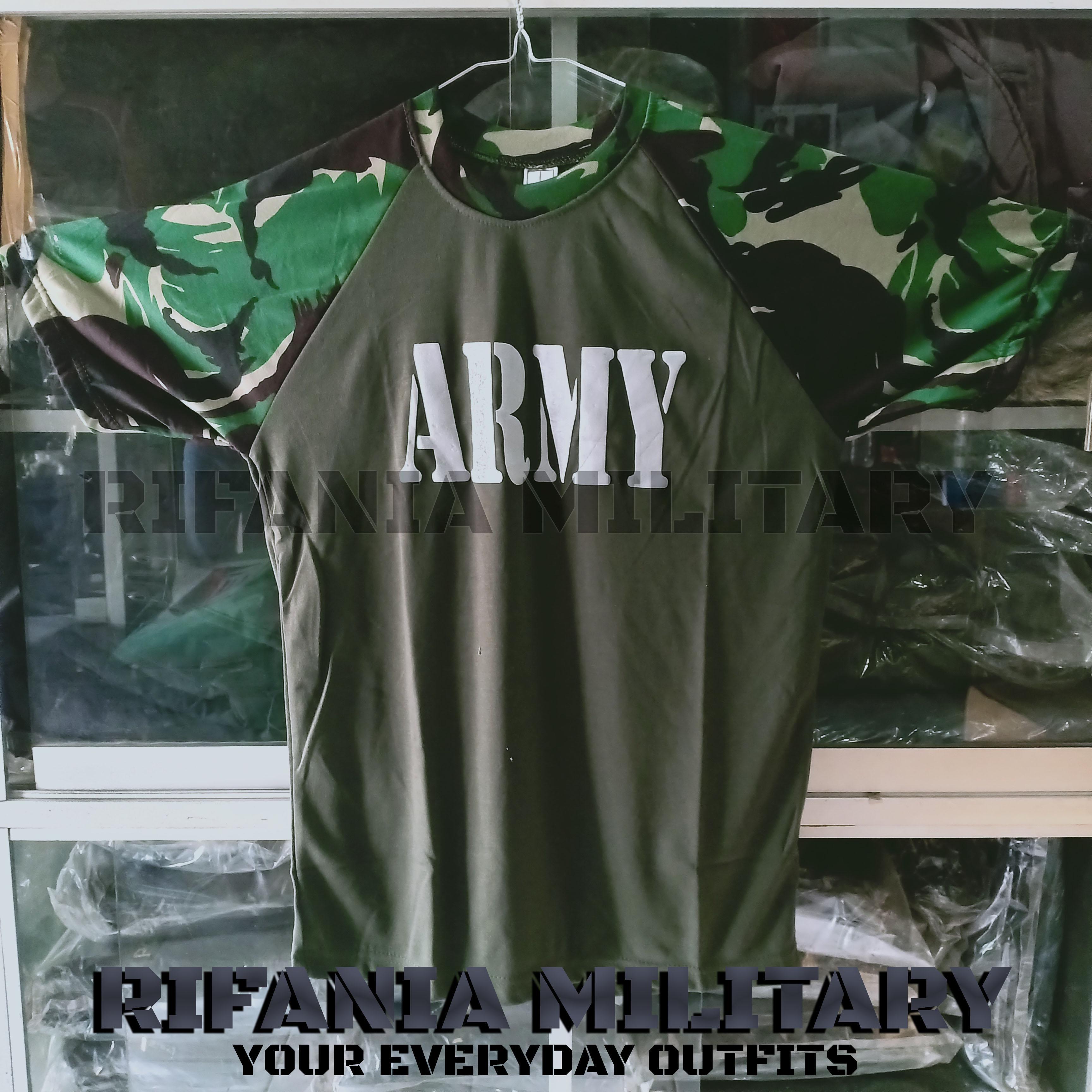 Kaos Pria ARMY PERBAKIN Tactical Terbaik Termurah