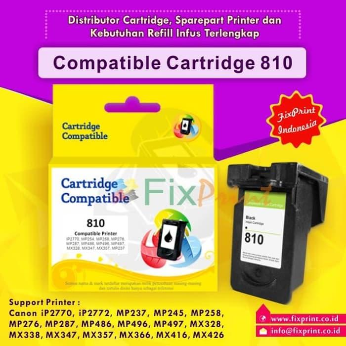 PROMO!!BISA COD!! Tinta Cartridge Recycle Canon 810 PG810 PG-810, Printer iP2770 MX328 TERSEDIA JUGA tinta printer canon/tinta printer hp 680/tinta epson/tinta tato permanen
