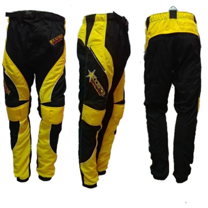Go Sports Celana Trail Cross Motocross Mx Racing Sepeda Hitam Kuning R Lokal