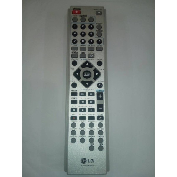 REMOT REMOTE DVD HOMETHEATER HOME THEATER LG 6710CDAU02B ORIGINAL TERLARIS