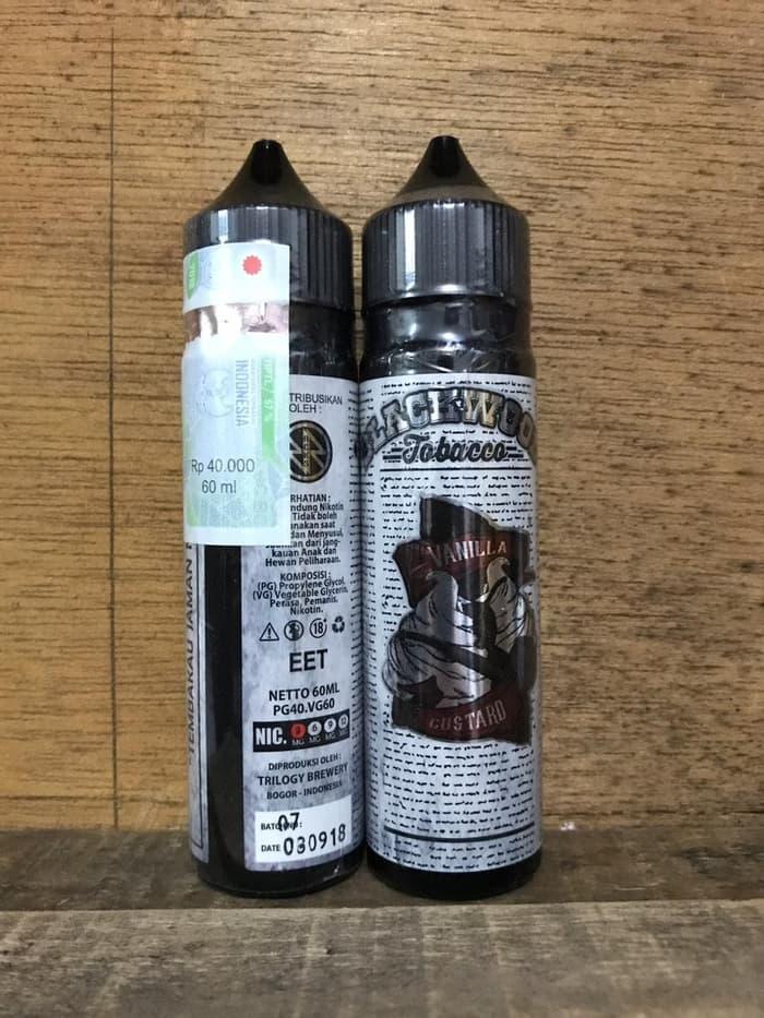 Blackwood Vanilla Tobacco 3mg 6mg 9mg 12mg 60ml liquid vape pita cukai - ready stock