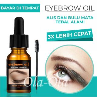 Penumbuh bulu mata dan alis eyebrow oil alis tebal dan hitam alami 100% ( BISA COD ) thumbnail