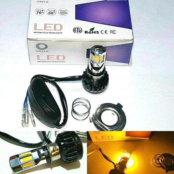 [PROMO EKSKLUSIF] LAMPU BOHLAM MOTOR LED ARUS AC DC 6SISI MURAH
