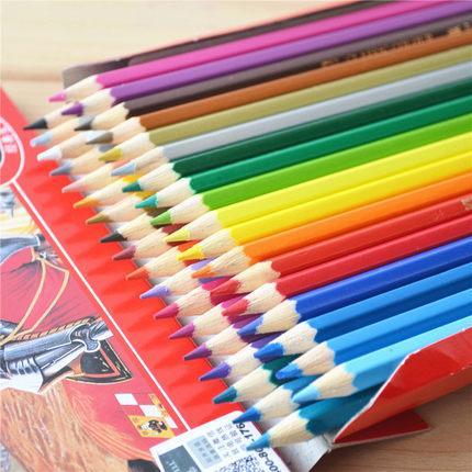 Jerman Produk Asli Faber-Castell 48 warna Tipe Larut Dalam Air Lukisan pensil berwarna Profesional lukisan mewarnai pewarnaan pensil berwarna-warni