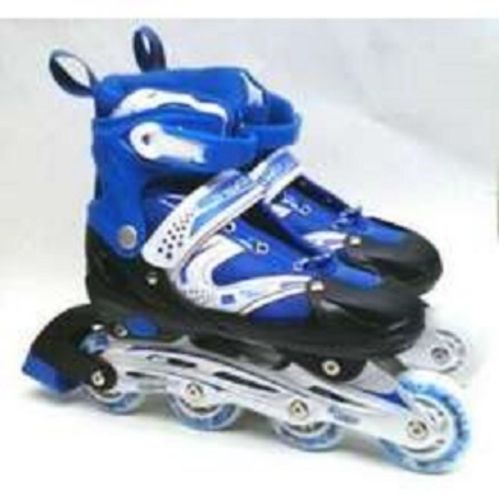 (cod) Promo Sepatu Roda Bajaj Lampu Anak Super Murah Inline Skate Power Global Collection Sport 06 By Mama Mart.