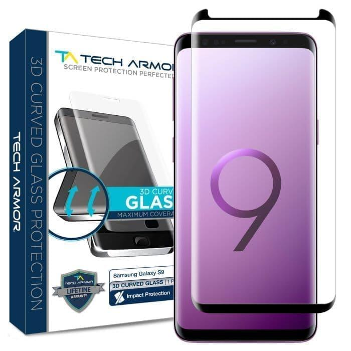 Clear 3D Friendly Screen Protector for Samsung Galaxy S9 Plus