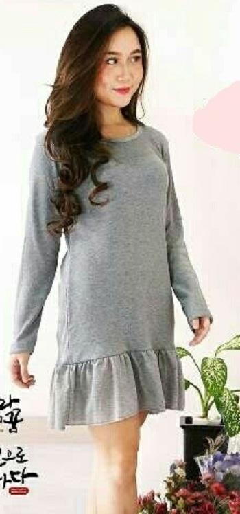 Daily Wear Dress Wanita Rebecca / Kemeja Wanita / Kaos Wanita / Tunik Wanita / Dress