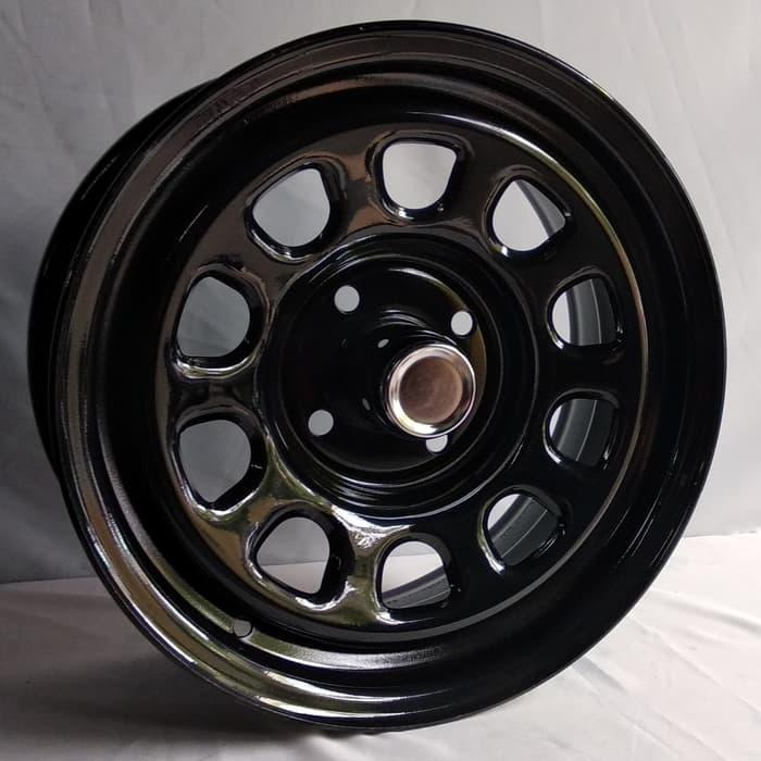 Free Expedisi*, Velg Mobil Steel Daytona 15x7.0 4H 114.3 et+13 Kijang
