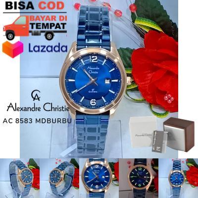 jam tangan alexandre christie wanita / jam tangan fashion wanita merk Alexandre Christie AC 8583 / jam tangan kasual wanita / jam tangan merk alexandre christie wanita model terbaru