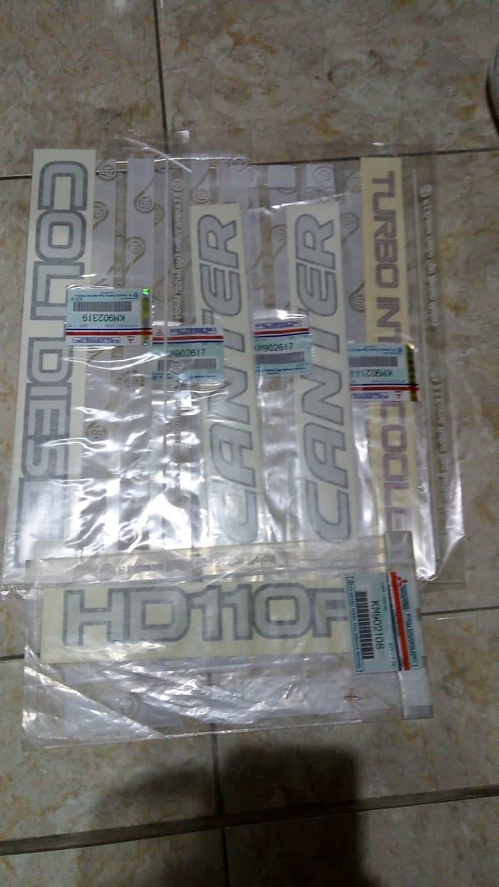 emblem striker canter turbo HD 110 ps harga set Orsinil asli Mitsubi