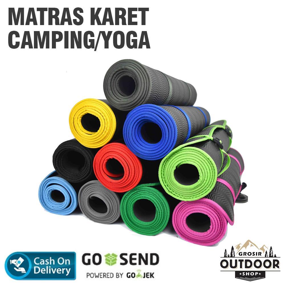 Matras Yoga / Matras Camping / Matras Karet / Matras Cacing / Alas Yoga