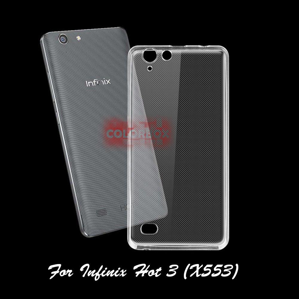 MR Infinix Hot 3 LTE X553 Ultrathin Infinix X553 / Silikon Infinix Hot 3 LTE X553