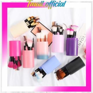 TMALL R034 Kuas Rias Make Up Tabung 12pcs Makeup Pro Brush 12 Set In Tube Import Murah Grosir thumbnail