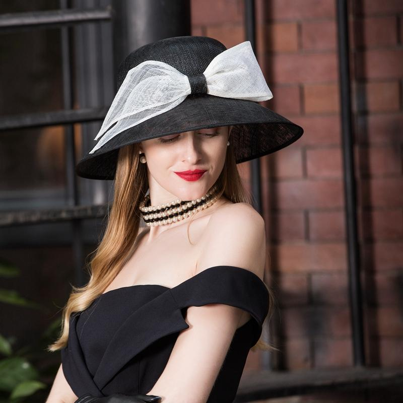 0ca3bec836c33 EE New Style Fashion Simple Summer Hat Female Sun-resistant College Style  Cambric Bowler Hat