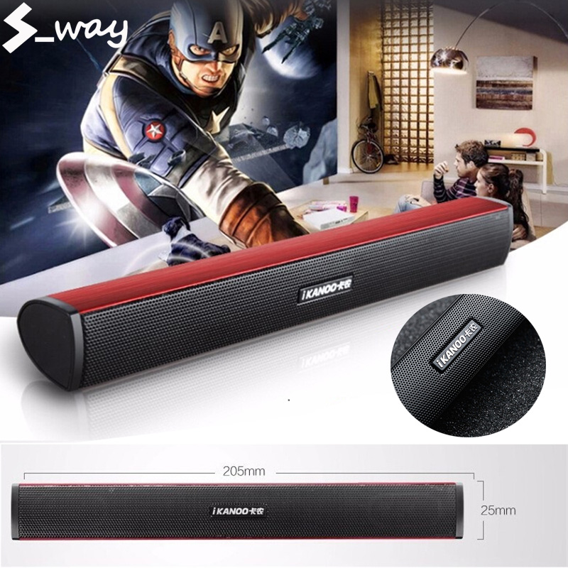 S_way Ikanoo N12 USB Laptop Portable stereo Speaker Audio Soundbar mini USB laptop portable speakers Sound Bar Speakers Malaysia