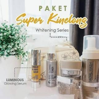 Ms Glow Paket Luminous Dan Serum Luminous - Pencerah Wajah - Penghilang Bekas Jerawat - Penghilang Kusam - Paket Hemat Ms Glow - Penghilang Bopeng thumbnail