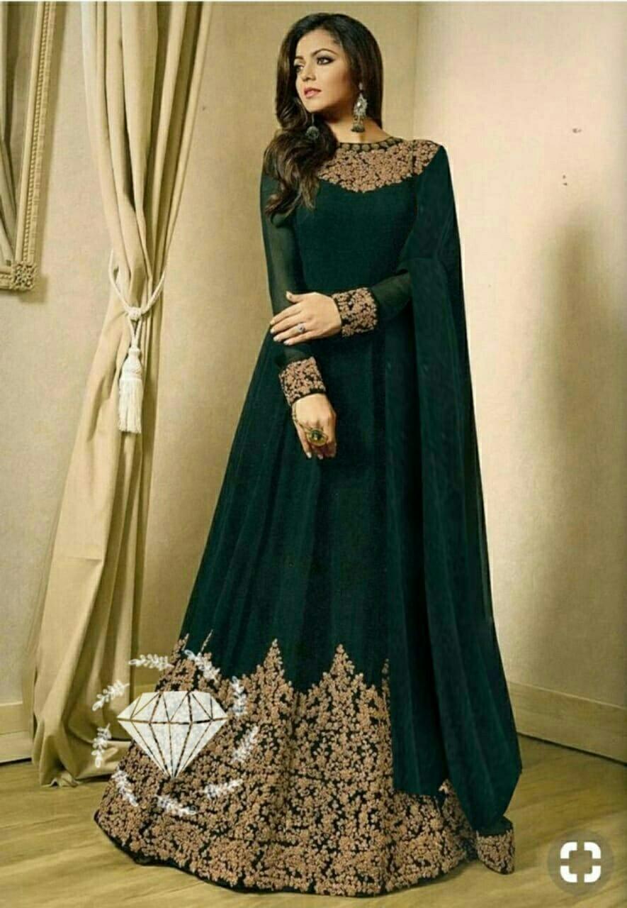 Grosir Hasanah Drasshti Dhamy   Gamis india Kombi Bordir Trhits 2019    Gamis Pesta Fashion   10dc7513e2
