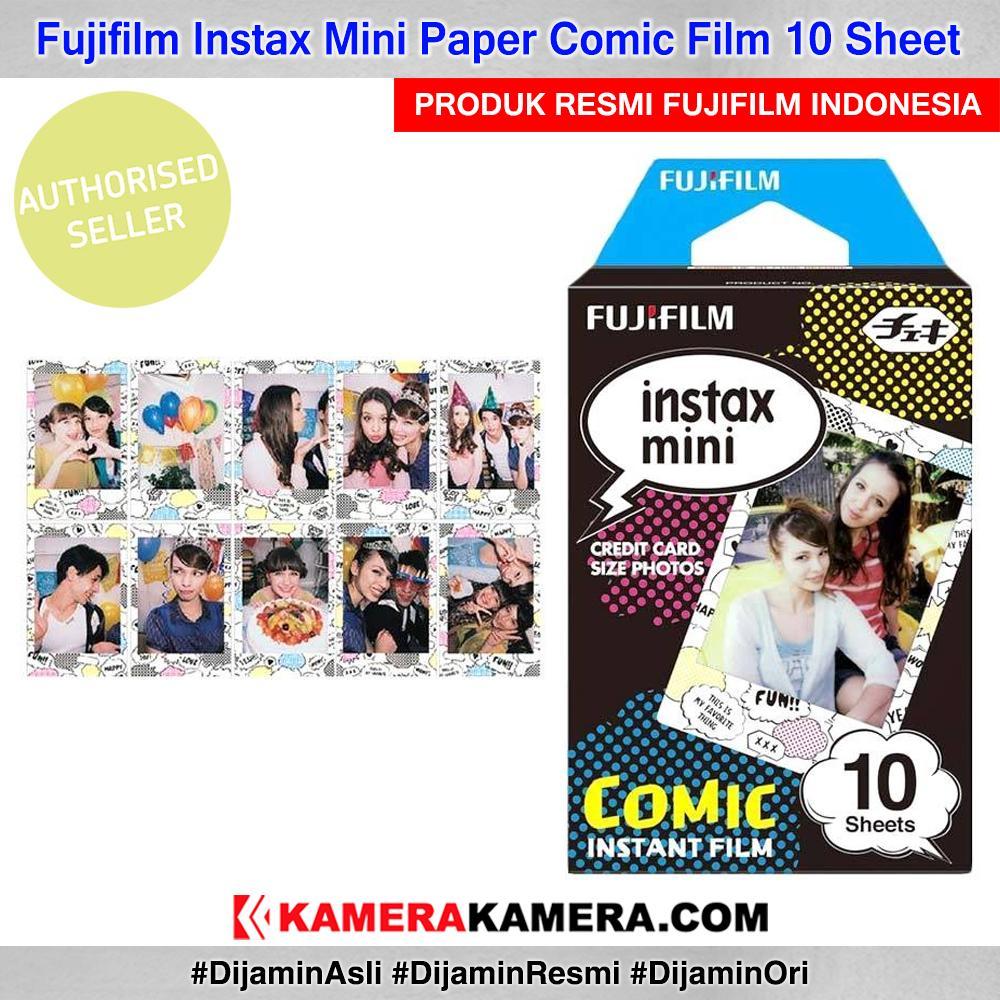 Fujifilm Instax Paper Comic Motif Film 10 Sheet Original By Kamerakamera.