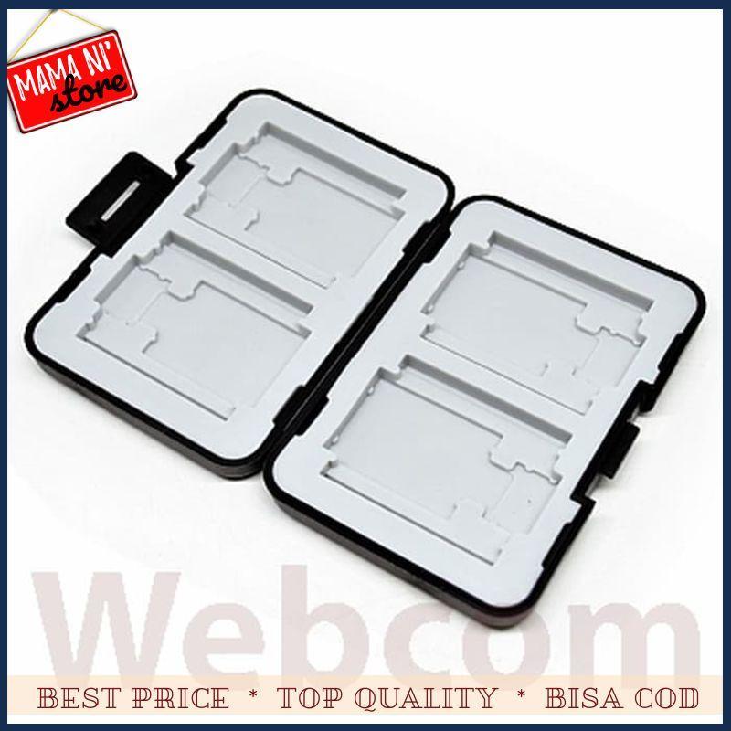 Best Seller Case / Kotak / Holder Memory Card (4 Compact + 4 SD + 4