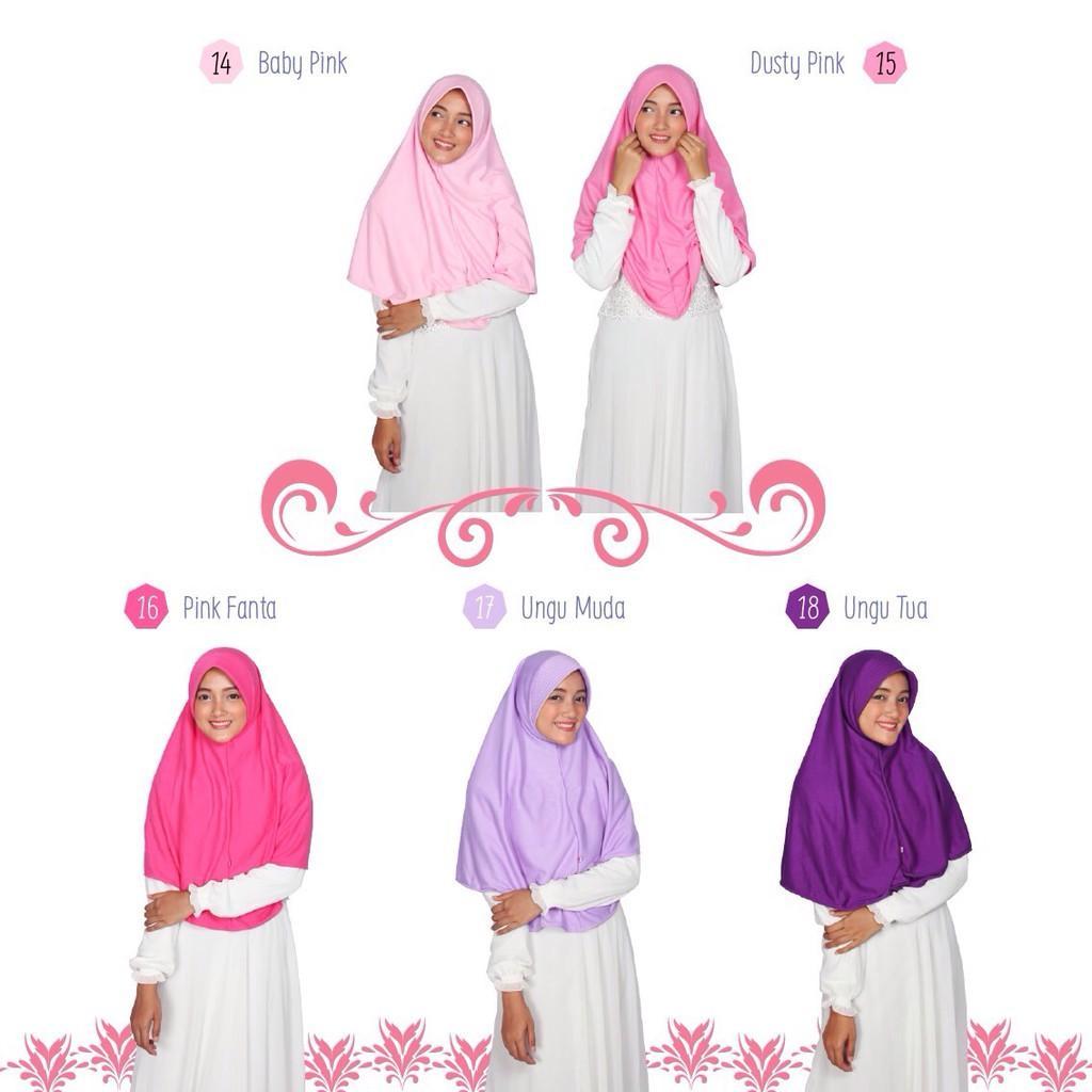 Hijab Alsa Bergo Berri (Bergo sehari-hari), Bergo Kaos, Jilbab Instan, Best Seller