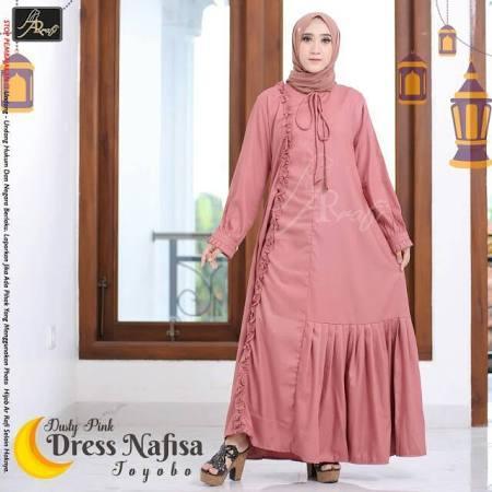 Gamis Arrafi Dress Nafisa Gamis Muslim Wanita Gamis Dewasa Arrafi Busana Mslim Lazada Indonesia