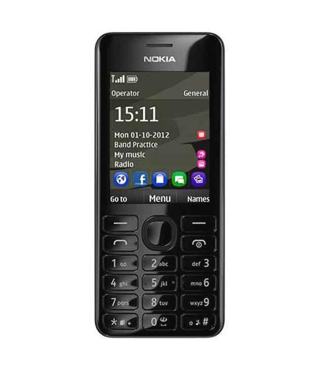 NOKIA ASHA 206 REFURBISH JADUL MP3 DUAL SIM CAMERA HANDPHONE REFURBHISED