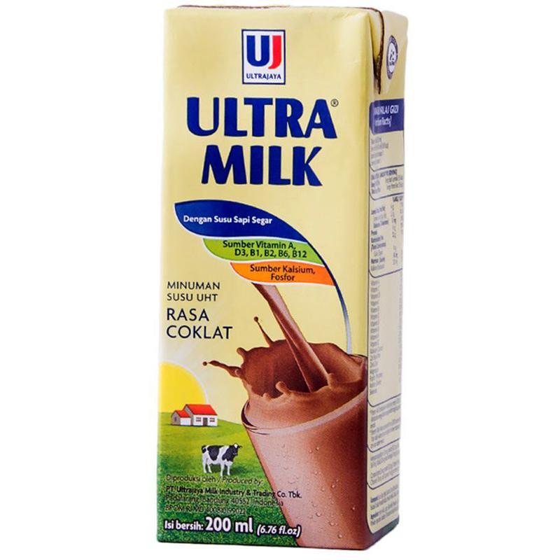 ULTRA MILK Coklat Kotak  200ml