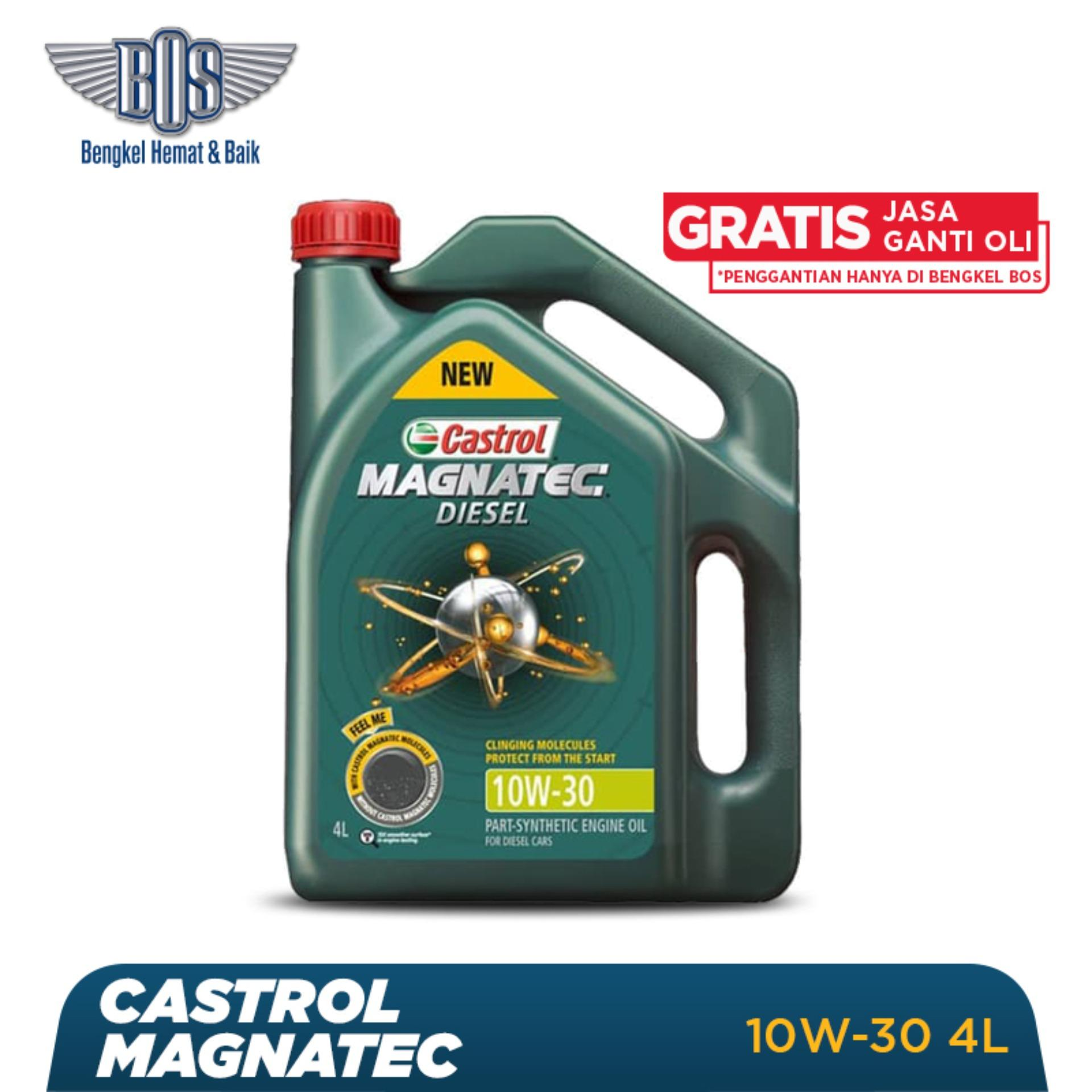 Oli Mobil Castrol Magnatec Diesel -  10W-30 - GALON -  Gratis Jasa Ganti Oli dan Check Up Kendaraan
