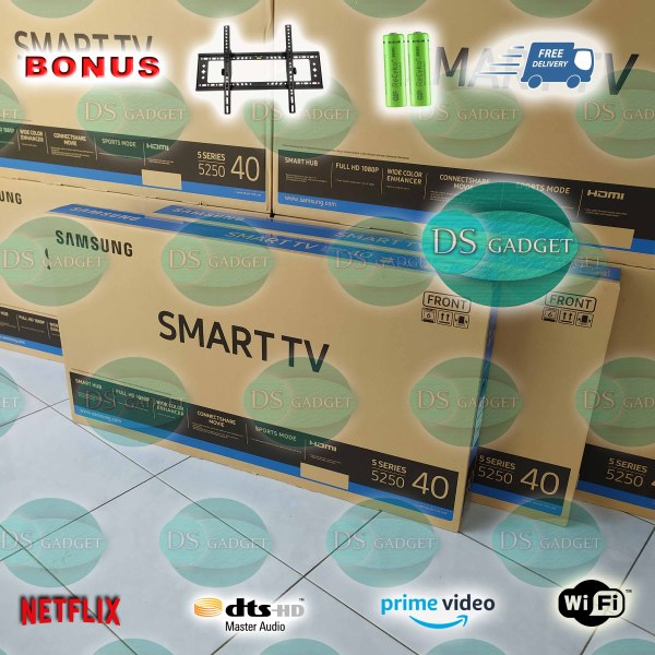 TV LED SAMSUNG UA40J5250DK Smart 40 inch (Full HD) Color Enhancer & Digital Clean View, Dolby, DTS Audio Format, ConnectShare & SCreen Mirroring