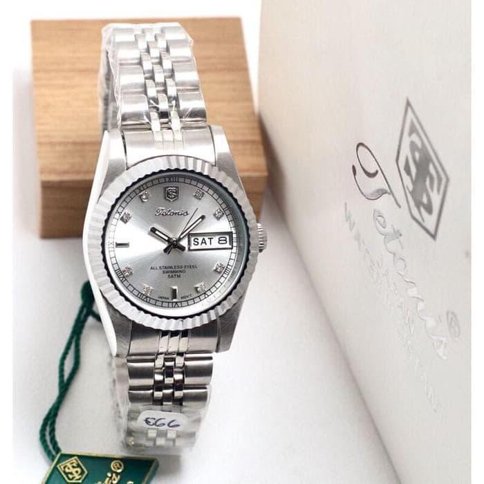 Jam tangan TETONIS  WANITA T2630 -Jam tangan Merek Terbaik Original Quality Water Resistant 5ATM (50M) Nyaman digunakan- Jam tangan Mewah-Fashion Desain Analog-Tanggal-Casual- BEST SELLER-BRAND MEWAH TERNAMA