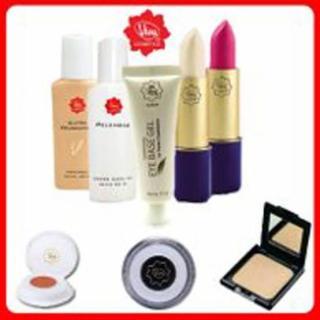 Paket Decoratif Standart by Viva Cosmetics ( Pelembab , Ultra Foundation , Compact Powder , Lipstik , Lip Gloss , Eyeshadow Cream , Fin Touch , Eye Base Gel ) thumbnail