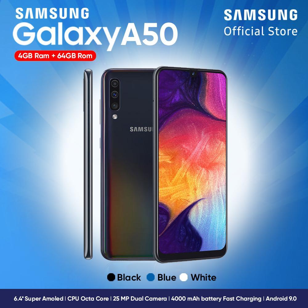 Samsung Galaxy A50 [4GB/64GB] - Garansi Resmi