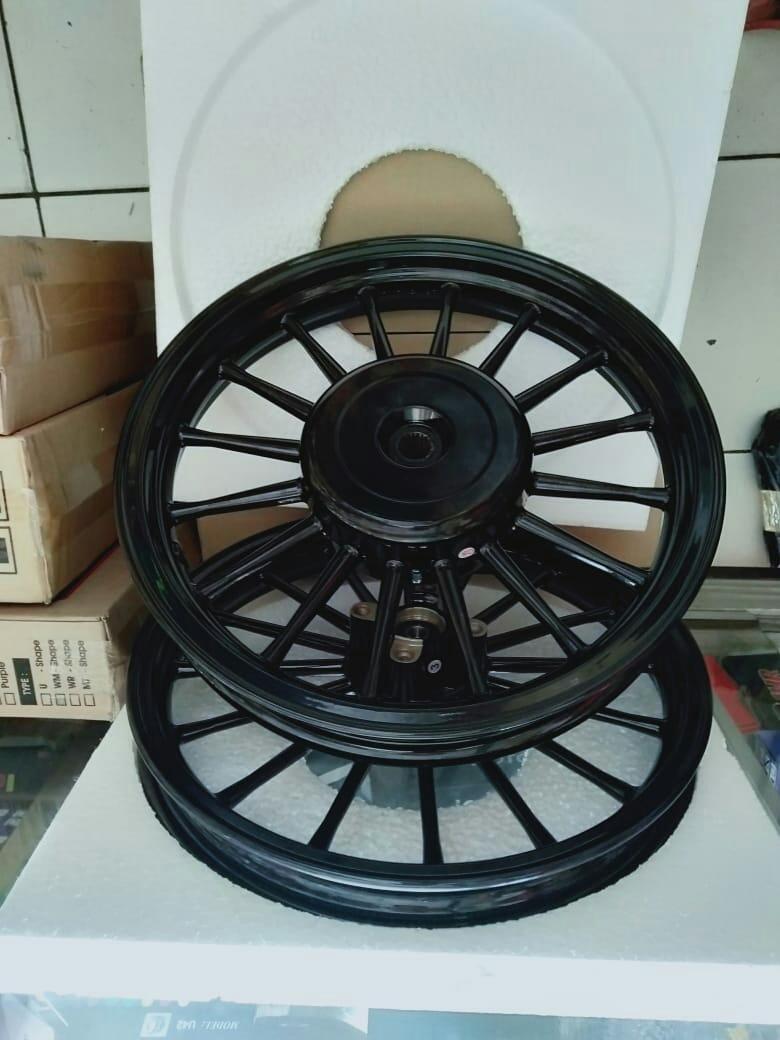 velg racing motor Honda beat vario scopy 110 rossi ring 14 x185 x160
