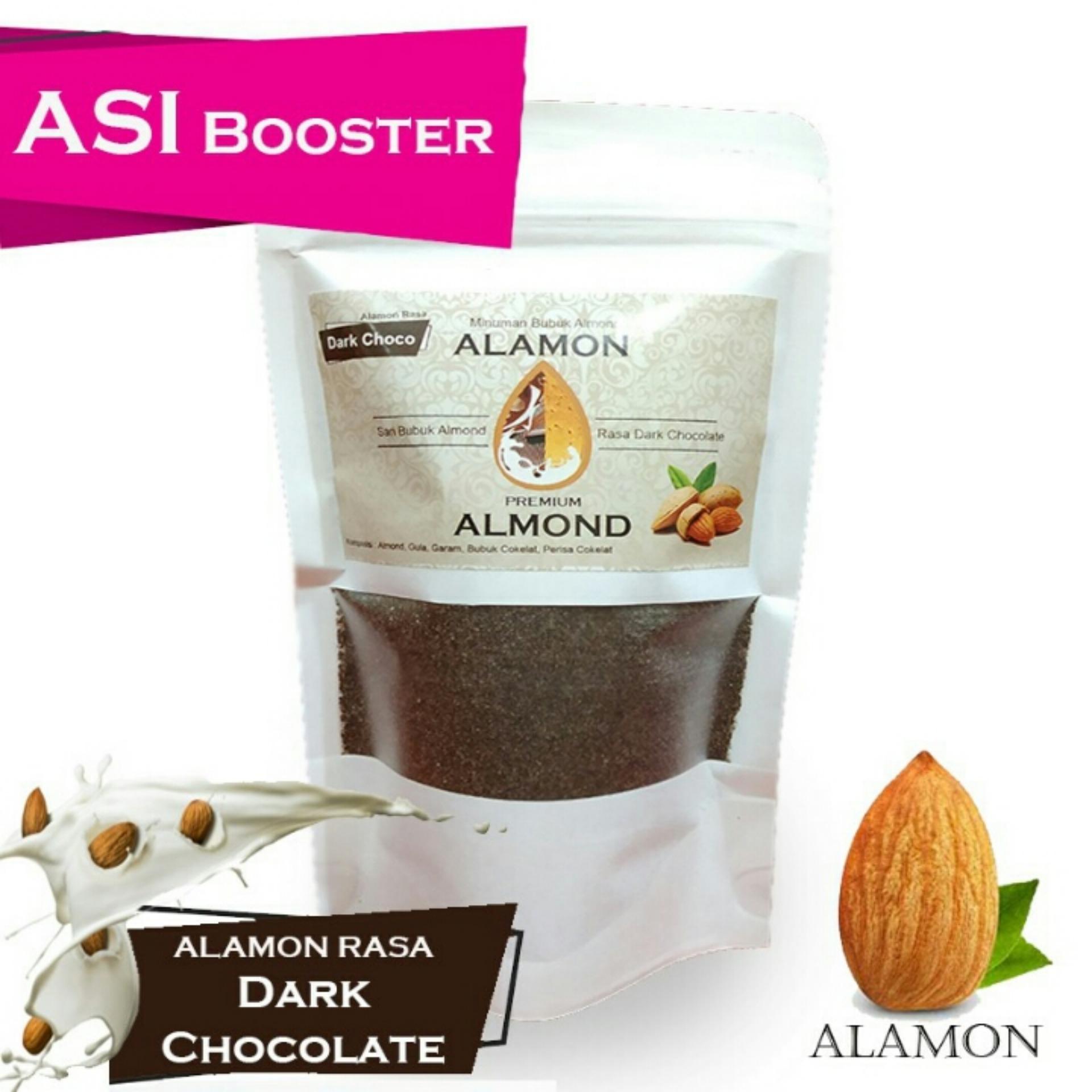 Susu Almond Bubuk Premium / Pelancar ASI, Brain Nutrition, Susu Ibu Hamil & Menyusui / HALAL / 170 Gr Nett / Untuk 5x Minum