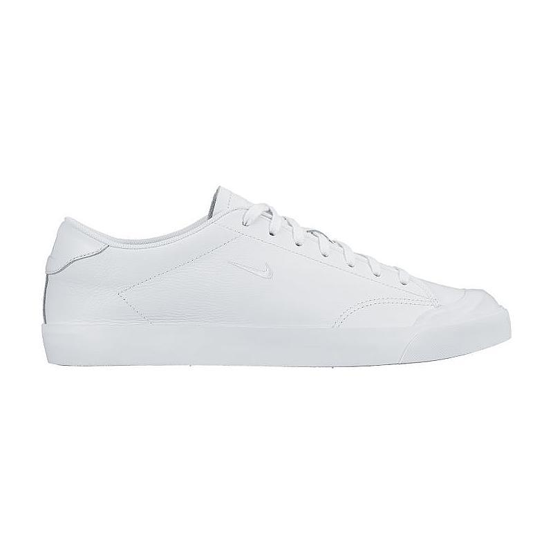Nike All Court 2 Low Leather Sepatu Olahraga Sneakers Pria - White b9f9f06c06