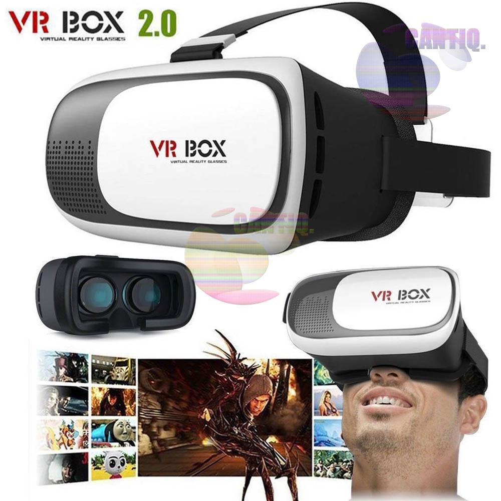 Jual Vr Box Virtual Reality 2 Play More Game With Magnet 3d Glasses Kacamata Cardboard Vb2 T3 Smartphone For Ios Storm