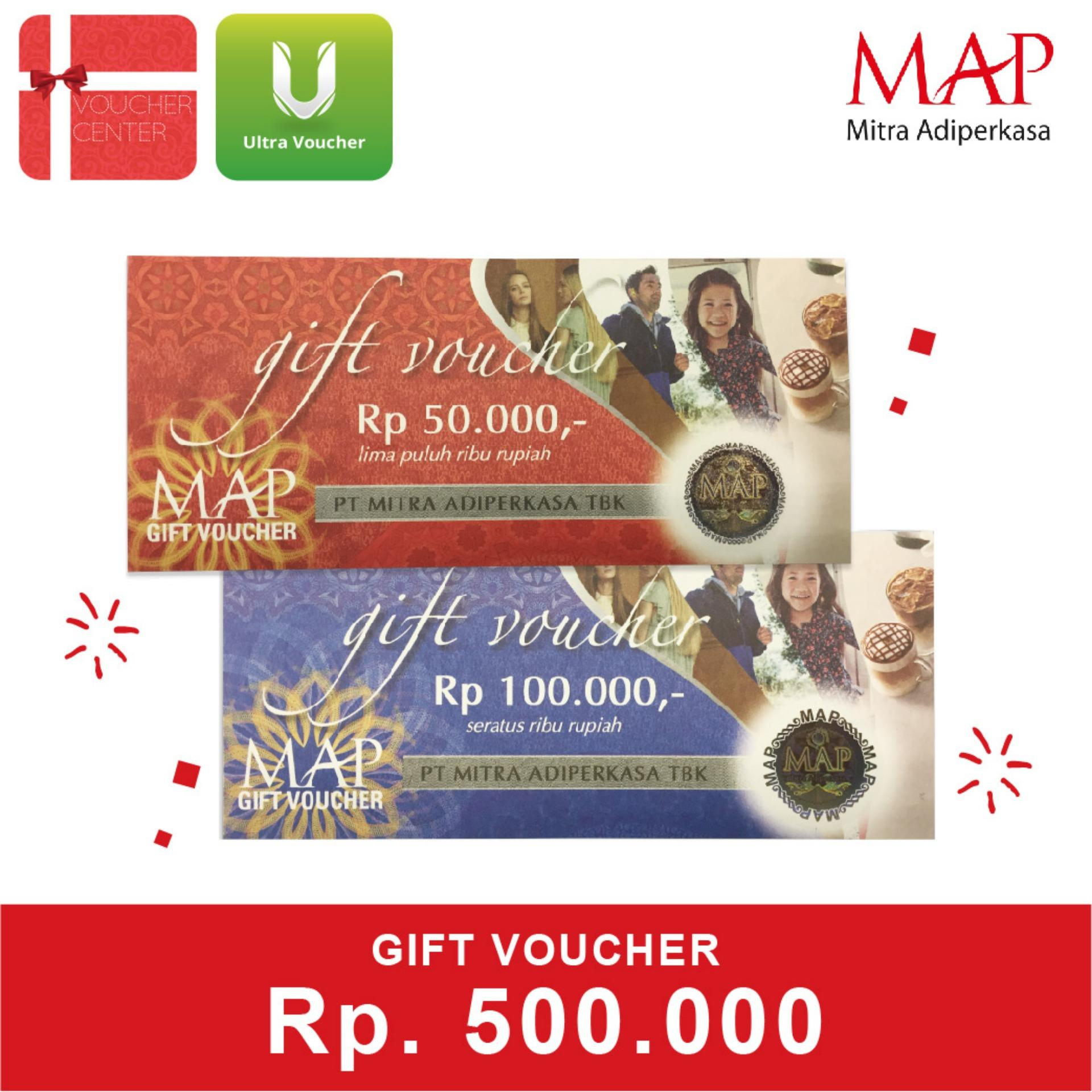 Map Gift Voucher 500.000 By Voucher Center.