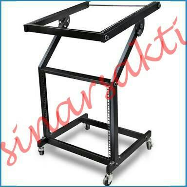 Rak Mixer/Rak Power/Rak Audio 9U ( Bahan Full Besi )