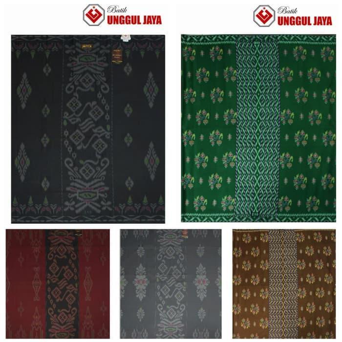 Sarung Tenun Halus Ramadhani / Al Anbiyaa Motif Kembang Khusus Seragam
