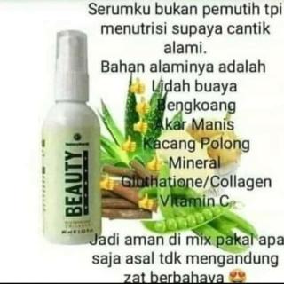 (COD Bayar ditempat) NATURA BEAUTY SPRAY 60ml Glutathione Collagen thumbnail