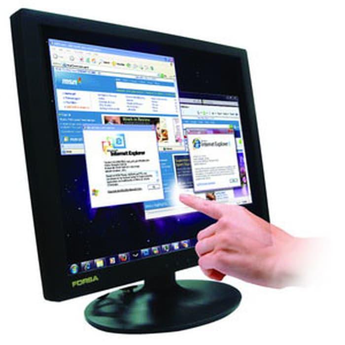 Promo   LCD MONITOR Touchscreen 17 inch FORSA   Termurah