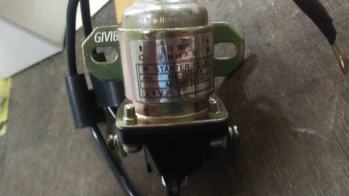 Relay Starter Canter PS135 4D33 24V ME753458 OEM Quality