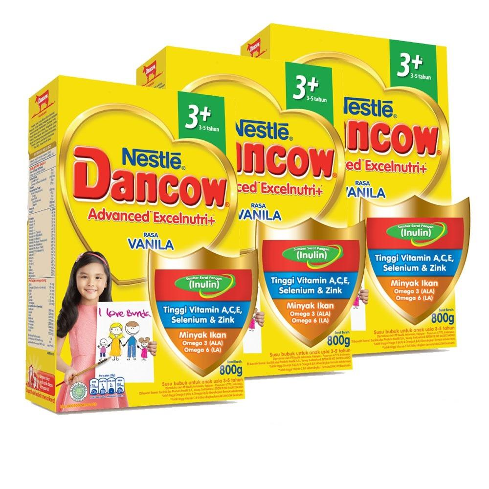 Dancow 3+ Vanila 800g By Babycenter.