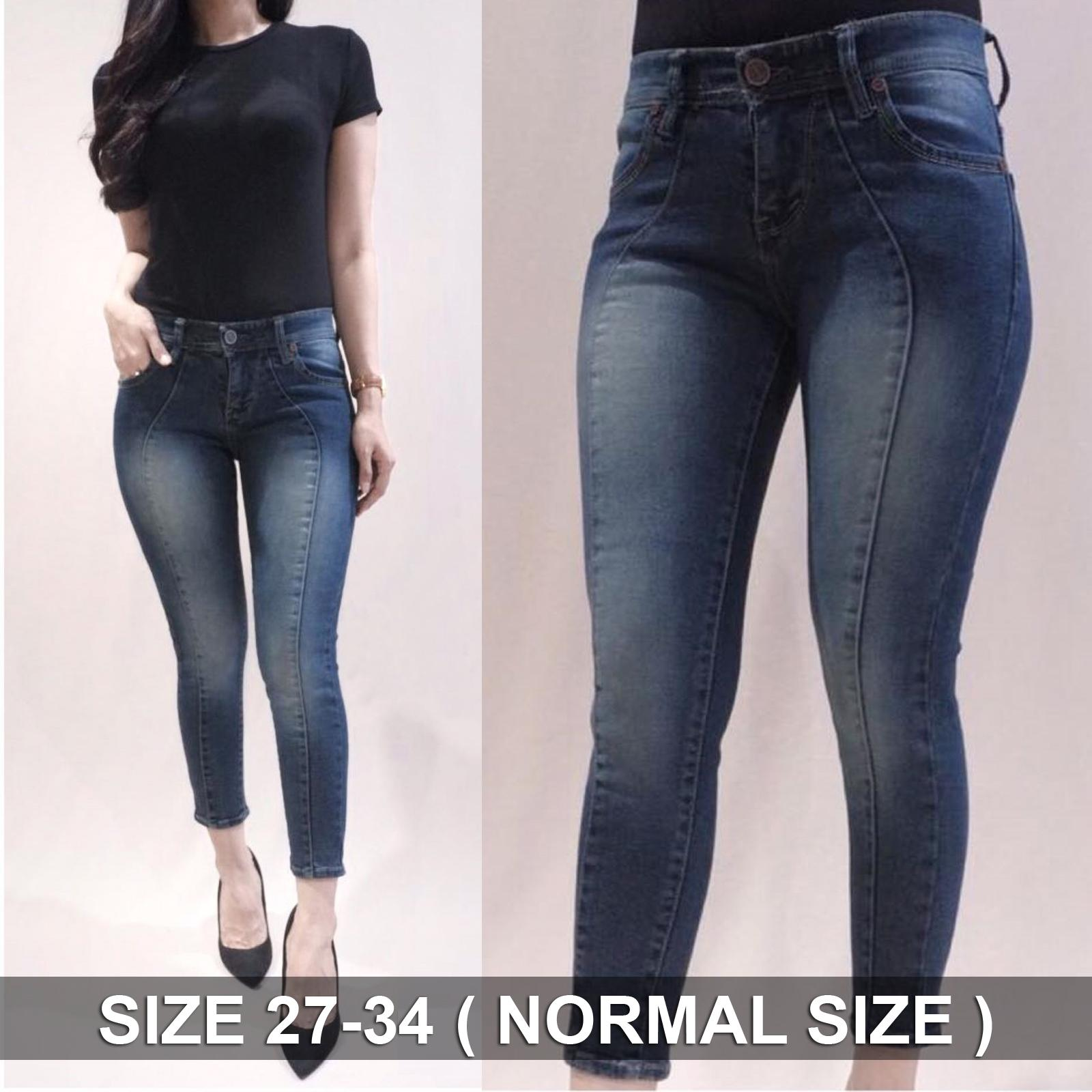 XYX Clothier ~ Coura Tint Promo TERMURAH!! Celana jeans sobek murah wanita  ripped jeans 6e4e037309
